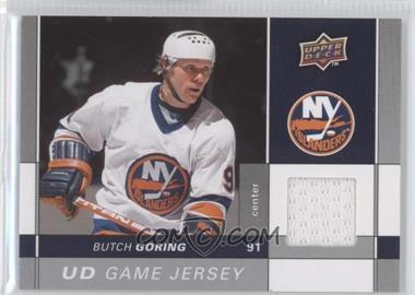 2009-10 Upper Deck - Game Jersey #GJ-BG - Butch Goring