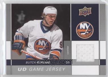 2009-10 Upper Deck - Game Jersey #GJ-BG - Butch Goring