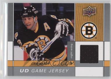 2009-10 Upper Deck - Game Jersey #GJ-CN - Cam Neely