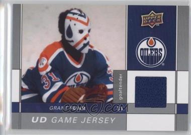 2009-10 Upper Deck - Game Jersey #GJ-GF - Grant Fuhr