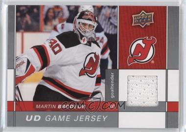 2009-10 Upper Deck - Game Jersey #GJ-MB - Martin Brodeur