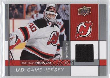 2009-10 Upper Deck - Game Jersey #GJ-MB - Martin Brodeur