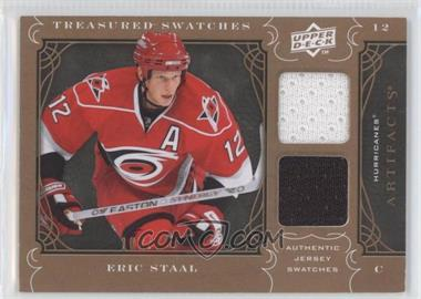 2009-10 Upper Deck Artifacts - Treasured Swatches #TS-ES - Eric Staal /199