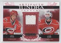 Eric Staal, Cam Ward /50