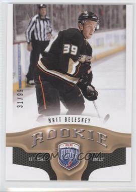 2009-10 Upper Deck Be a Player - [Base] #286 - Matt Beleskey /99