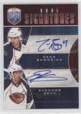 2009-10 Upper Deck Be a Player - Dual Signatures - [Autographed] #S2-BK - Zach Bogosian, Evander Kane