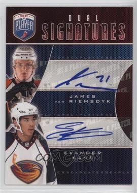 2009-10 Upper Deck Be a Player - Dual Signatures - [Autographed] #S2-KV - James van Riemsdyk, Evander Kane