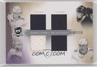 Tyler Myers, Tyler Ennis, Jhonas Enroth, Chris Butler [Noted] #/10