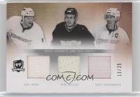 Saku Koivu, Ryan Getzlaf, Scott Niedermayer /25
