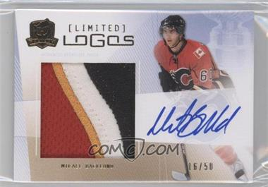 2009-10 Upper Deck The Cup - Limited Logos Autographs #LL-BA - Mikael Backlund /50