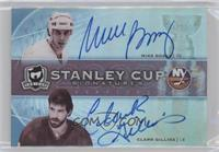 Mike Bossy, Clark Gillies #/25