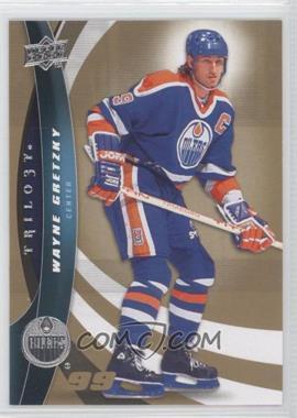 2009-10 Upper Deck Trilogy - [Base] #99 - Wayne Gretzky