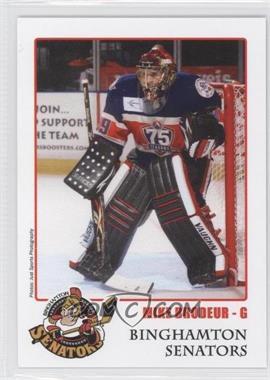 558f643dc 2010-11 Binghamton Senators Team Issue - Program Set #MIBR.2 - Mike ...