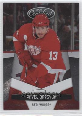 2010-11 Certified - [Base] - Platinum Red #51 - Pavel Datsyuk /999