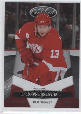 2010-11 Certified - [Base] - Platinum Red #51 - Pavel Datsyuk /999