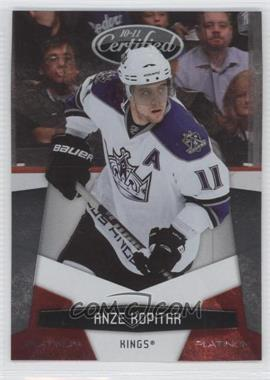 2010-11 Certified - [Base] - Platinum Red #67 - Anze Kopitar /999