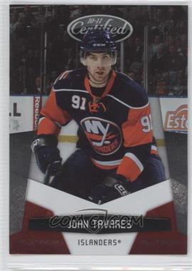 2010-11 Certified - [Base] - Platinum Red #90 - John Tavares /999