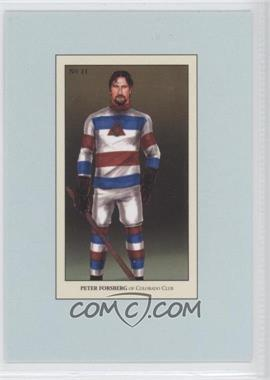 2010-11 In the Game 100 Years of Collecting - Multi-Product Insert [Base] #11 - Peter Forsberg