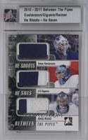 Jonas Gustavsson, Jean Sebastian Guigure, James Reimer [Uncirculated] #/20
