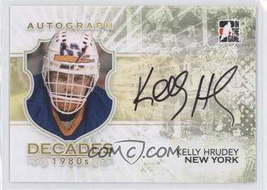 2010-11 In the Game Decades 1980s - Autographs #A-KH - Kelly Hrudey