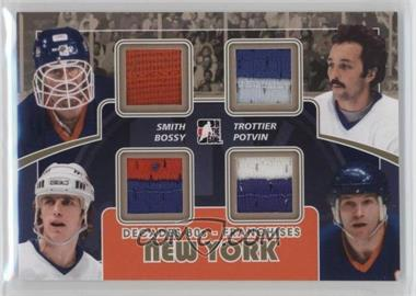 2010-11 In the Game Decades 1980s - Franchises - Gold #F-11 - Billy Smith, Bryan Trottier, Mike Bossy, Denis Potvin