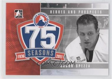 2010-11 In the Game Heroes and Prospects - AHL 75th Anniversary #AHLA-13 - Jason Spezza