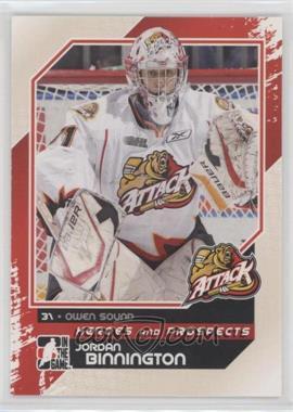 2010-11 In the Game Heroes and Prospects - [Base] #175 - Jordan Binnington
