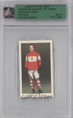 2010-11 In the Game Ultimate Memorabilia 10th Edition - [Base] - Centennial Edition #REKE - Red Kelly /10