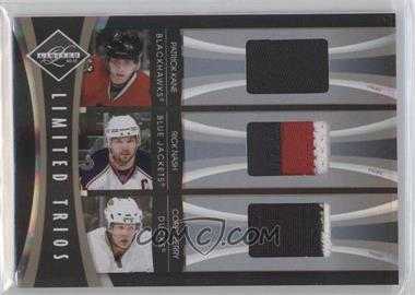 2010-11 Limited - Limited Trios - Materials Prime [Memorabilia] #KNP - Corey Perry, Patrick Kane, Rick Nash /49