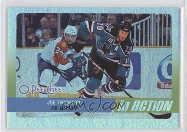2010-11 O-Pee-Chee - In Action #IA-22 - Joe Thornton