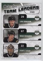 Loui Eriksson, Brad Richards, Marty Turco