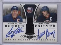 Denis Potvin, Mike Bossy [Noted] #/1