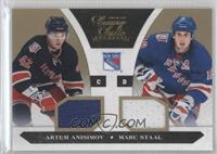 Artem Anisimov, Marc Staal /10