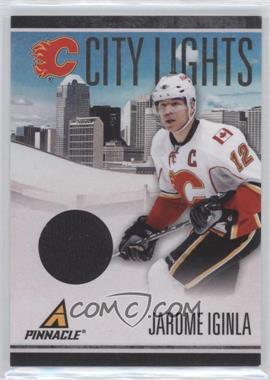 2010-11 Panini Pinnacle - City Lights - Materials #16 - Jarome Iginla /499