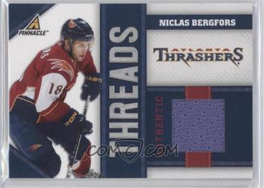 2010-11 Panini Pinnacle - Threads #BER - Niclas Bergfors /499