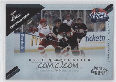 2010-11 Panini Playoff Contenders - The Great Outdoors #10 - Dustin Byfuglien
