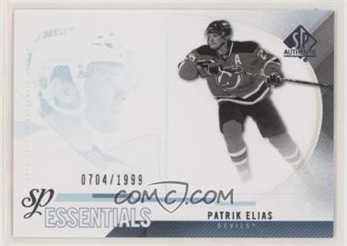 2010-11 SP Authentic - [Base] #158 - Patrik Elias /1999