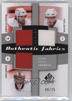 Henrik Zetterberg, Pavel Datsyuk, Jimmy Howard /25
