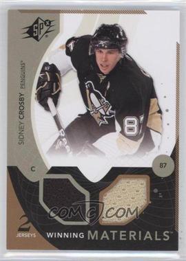 2010-11 SPx - Winning Materials #WM-CR - Sidney Crosby