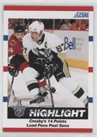 Stanley Cup Playoffs Highlight - Crosby's 14 Points Lead Pens Past Sens (Sidney…