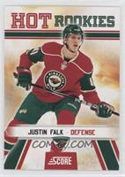 Hot Rookies - Justin Falk [EX to NM]