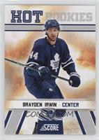 Hot Rookies - Brayden Irwin