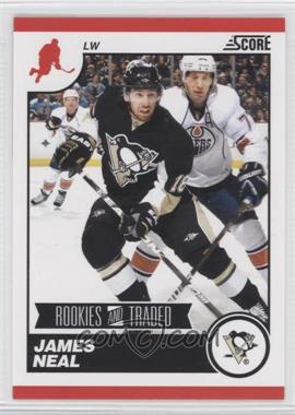 2010-11 Score Rookies & Traded - [Base] #585 - James Neal