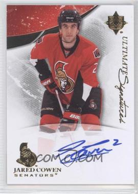 2010-11 Ultimate Collection - Ultimate Signatures #US-JC - Jared Cowen