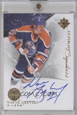 2010-11 Ultimate Collection - Ultimate Signatures #US-WG - Wayne Gretzky