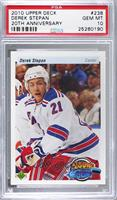 Derek Stepan [PSA 10 GEM MT]