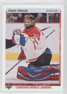 2010-11 Upper Deck - 20th Anniversary Variation #539 - Dustin Tokarski