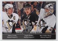 Sidney Crosby, Marc-Andre Fleury, Evgeni Malkin (Checklist)