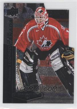 2010-11 Upper Deck Black Diamond - Team Canada Die-Cuts #TC-RL - Roberto Luongo