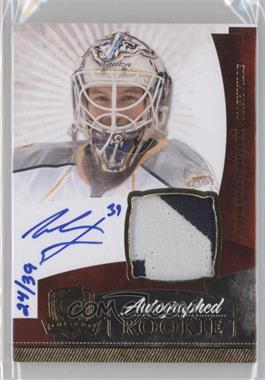 2010-11 Upper Deck The Cup - [Base] - Gold Rainbow #152 - Autographed Rookies Patch Level 1 - Anders Lindback /39